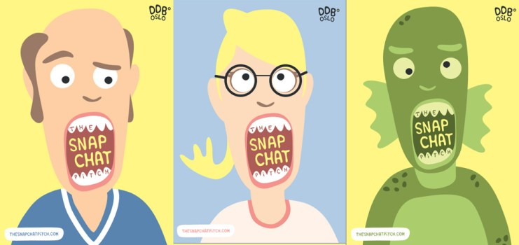 Snapchat remplace le CV chez DDB Oslo avec The Snapchat Pitch