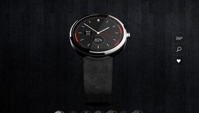 Motorola a prévu huit bracelets différents, dont certains en aluminium ou en cuir.
