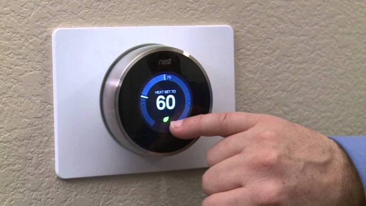 Nest  le thermostat intelligent