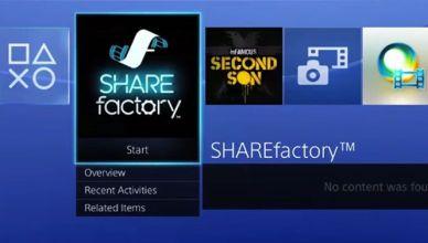 Mise à jour 1.7 pour Playstation 4