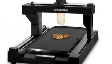 Une imprimante 3D pour les gourmands Voici Pancakebot.