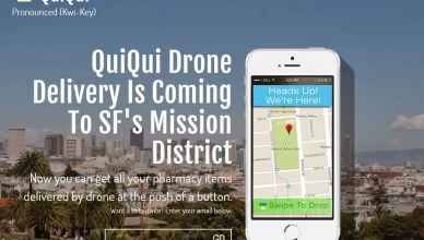 Livraison de médicaments par drone avec QuiQui