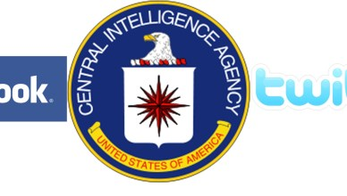CIA facebook Twitter