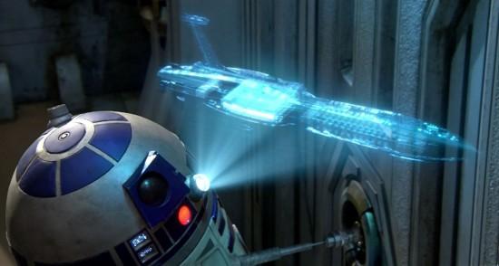 Un projecteur holographique qui pourrait ravir les fans du robot R2-D2 de la saga Star Wars.