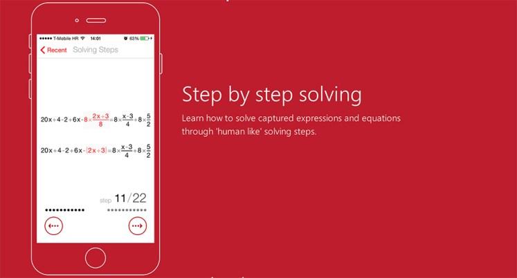 Application Photomath problèmes mathématiques