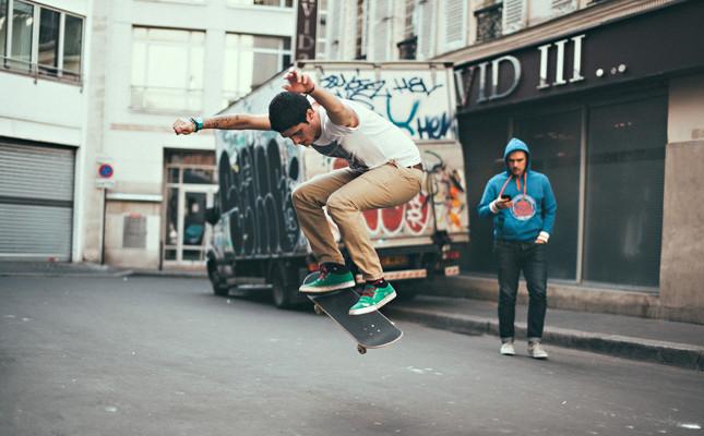 capteur pour skate objet connecté sport
