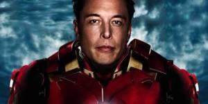 Elon Musk en Iron Man