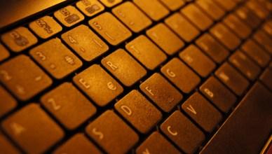 Photo d'un clavier AZERTY