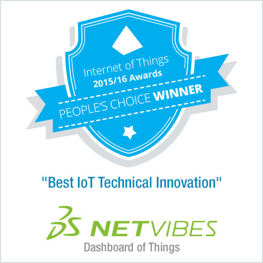 Netvibes : Dashboard of Things