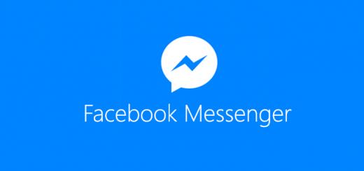 Logo bleu de Facebook Messenger