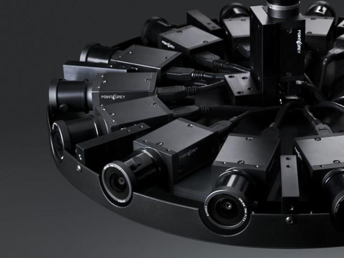 Réalité virtuelle caméra 360° de facebook