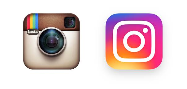 Instagram change de logo