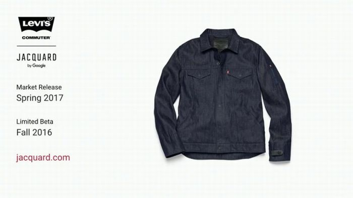 La veste connectée Jacquard de Google et Levi's