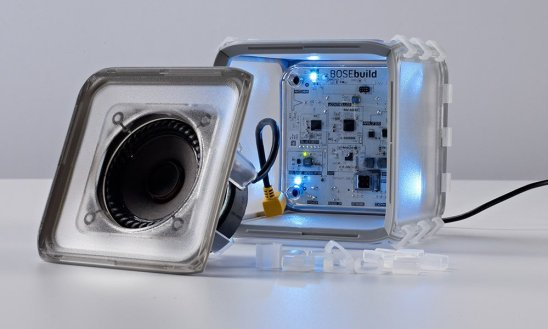 l'enceinte bose speaker cube ouverte