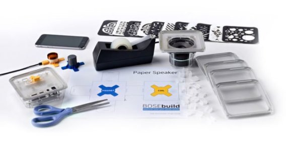les composants du kit bose speaker cube