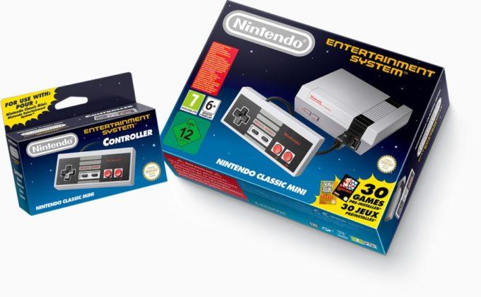 La console de jeux Nintendo Classic Mini