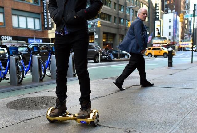 Hoverboard de rue