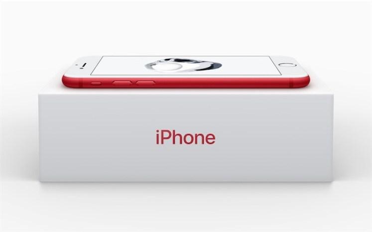 L'Iphone 7 devient rouge pour la lutte contre le sida