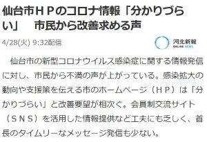 仙台市HP
