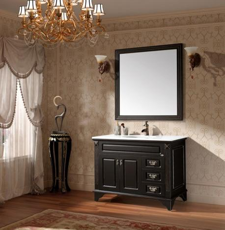 black and white bathroom vanities - a contemporary twist on a