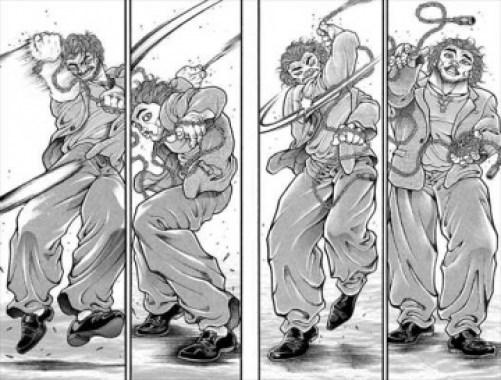刃牙道15巻 本部以蔵 vs 宮本武蔵3