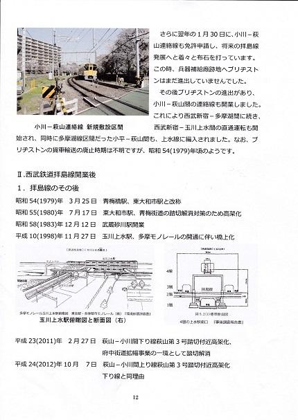 拝島線の歴史と拝島線となってから14