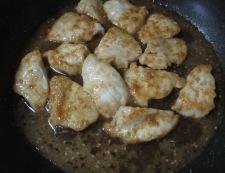 むね肉の胡麻照り焼き 調理④