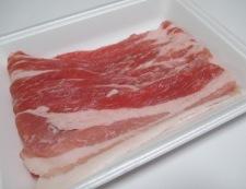 豚バラの一味しょうが焼き 材料①