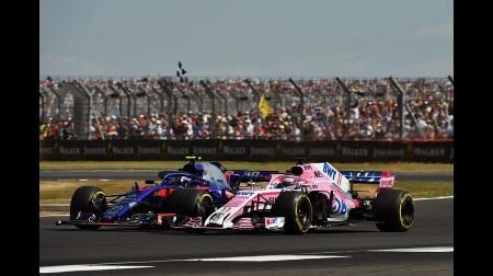 ガスリーに5秒加算のペナルティ@F1イギリスGP