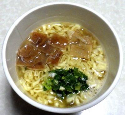 7/9発売 坂内食堂 喜多方本店 中華そば(できあがり)
