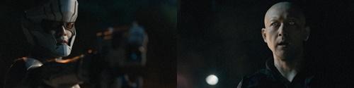 ブレイブストーム、侵略者から地球を守るヒーロー、シルバー仮面のやられ