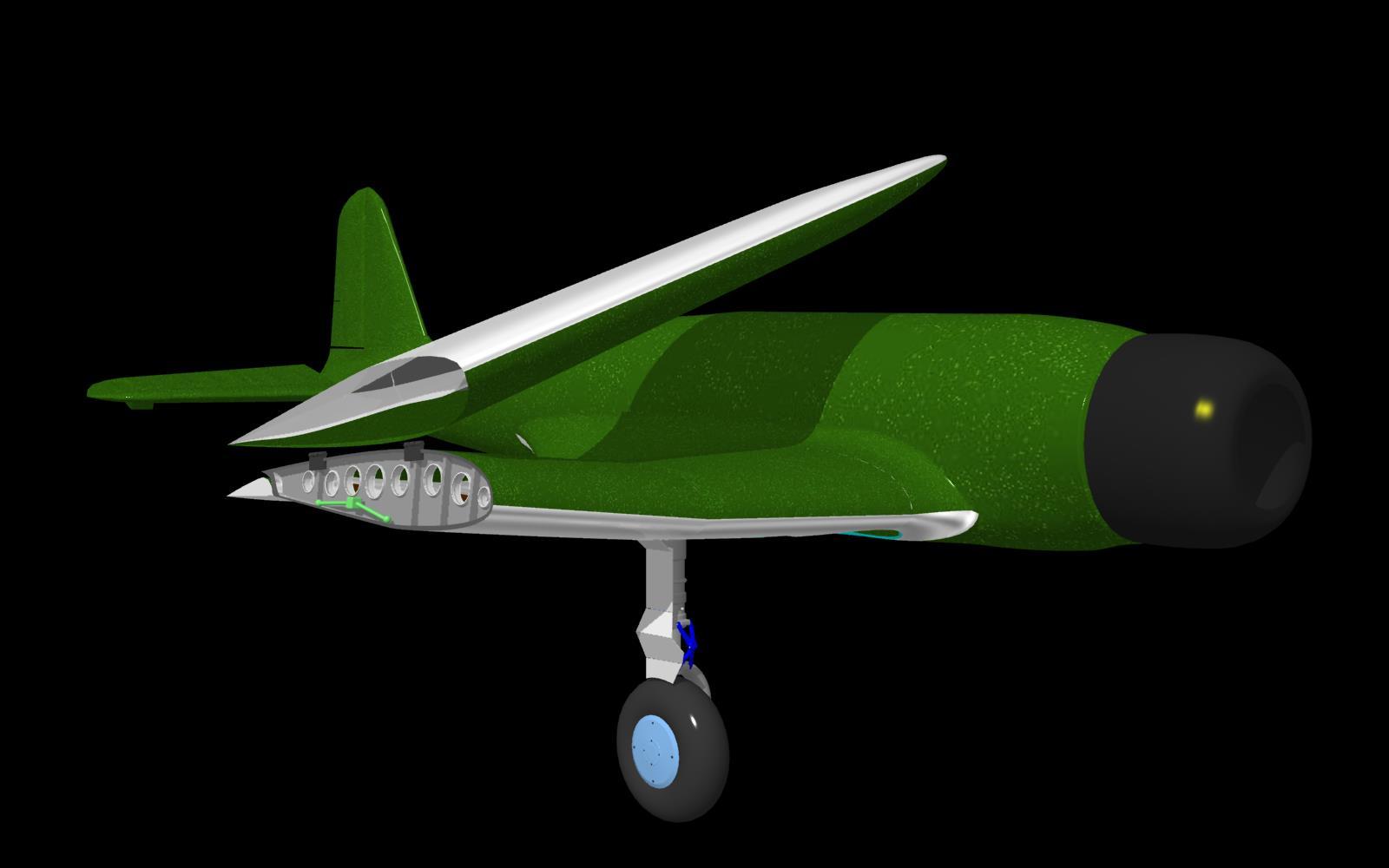 13. 主翼リブ - 97式艦攻