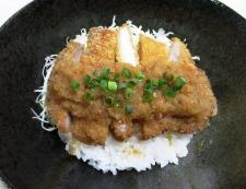 七味おろしカツ丼 調理⑥