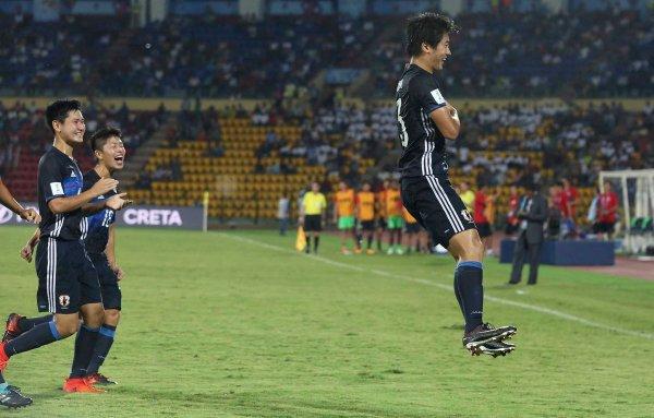 FIFA U17 World Cup Honduras U17 1 Vs 5 Japan U17