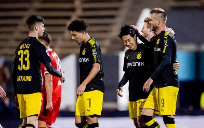 Fortuna Düsseldorf 0-2 Dortmund - Shinji Kagawa