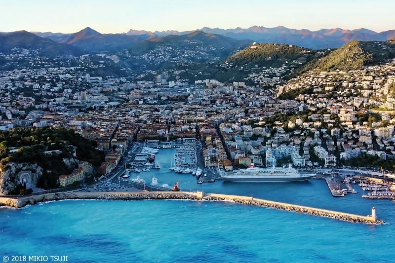 絶景探しの旅 - 0504 青いニース港 (ニース 南フランス)