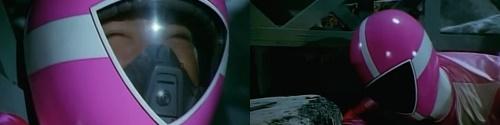戦隊ヒロイン、ゴーピンクが爆弾虫にやられる