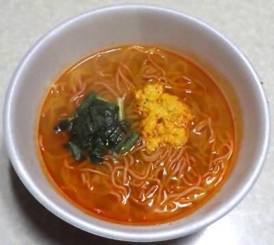 1/14発売 麺NIPPON 宮崎辛麺(できあがり)