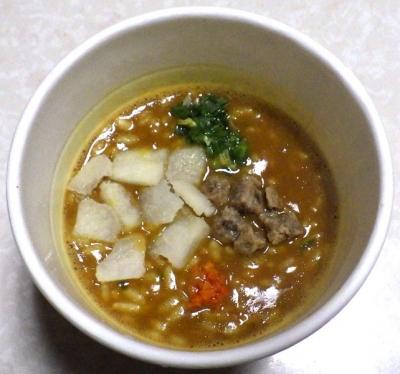2/4発売 カレーメシ カップヌードルカレー味(できあがり)