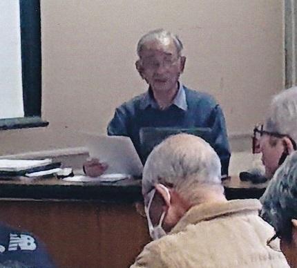 安島先生講座風景自由民権の里2