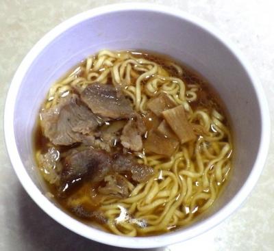 12/11発売 らぁ麺屋 飯田商店 醤油拉麺(できあがり)