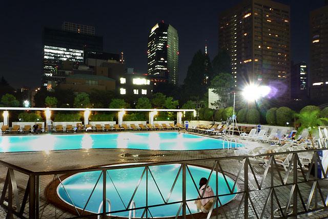 東京で激アツなナイトプールその3ANAインターコンチネンタルホテル東京の様子