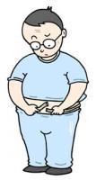 Pese el crecimiento, Una enfermedad estilo de vida-relacionada, Grasa hipodérmica,