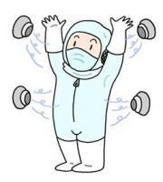 防尘室 防尘衣服 半导体工厂 尘室工程 带电防止