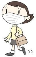 Neue Grippe, Verhütung der Übermittlung, Mask, die trägt