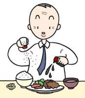 Das Überessen, Salzigkeit ist übermäßig, Die Kalorie ist übermäßig