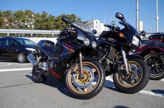 CBR250R & GPZ900R