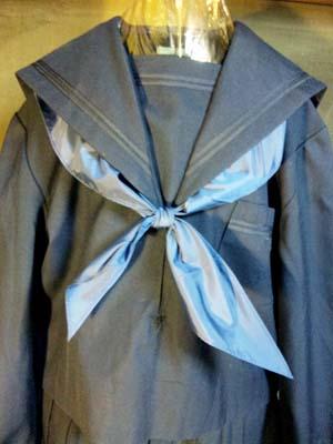 紺2本線前関西セーラー服