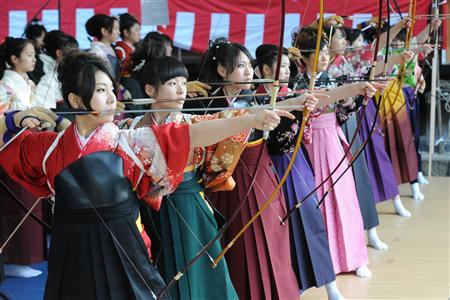 風の森の風見鶏 京都三十三間堂 通し矢