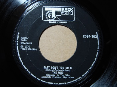 Image result for THE WHO— JOIN TOGETHER/BABY DON'T YOU DO IT